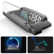 5.5in g3 gps head-up display hud projetor velocímetro aviso de excesso de velocidade carro gps digital head-up display detector de carro