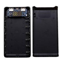 (Bez baterii) podwójne wyjście USB 6x18650 baterii DIY opakowanie na Power Bank etui na uchwyt dla telefonów komórkowych Tablet z funkcją telefonu PC M5TB