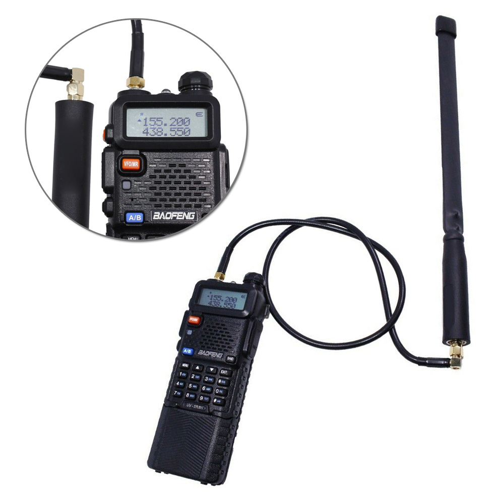 Extension Antenna For Baofeng UV-5R Two Way Radio Replacement Accessories