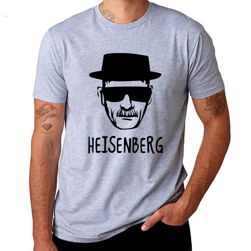 IMANFIVE Breaking Bad Heisenberg Funny Men T Shirt High Quality Cotton O-Neck Short Sleeve Fashion Printed Men T-Shirts