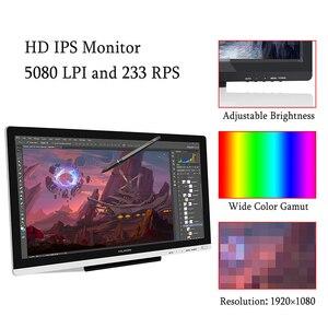 """Image 5 - Huion GT 220 V2 21,5 """"ручка планшет монитор Цифровой Рисование монитор сенсорный экран монитор Интерактивная ручка дисплей HD ips ЖК монитор"""