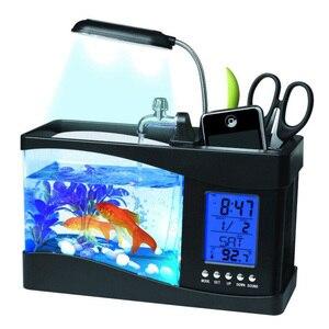 USB Desktop Mini Fish Tank Aqu