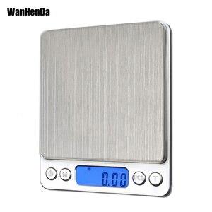 NEW 500/0.01g 3000g/0.1g LCD P