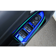 Lsrtw2017 Car Inner Door Window Control Panel Trims for Kia Rio X Line Kx Cross K2 Rio 2017 2018 2019 2020 Interior  Accessories накладки под ручки дверей kx cross для kia rio x line 2017