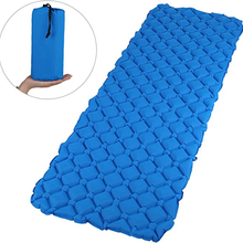 Inflatable Mat Camping Tent Air Mat Outdoor Picnic TPU  Sleeping Pad Ultralight Moisture-proof Cushion Hiking and Traveling