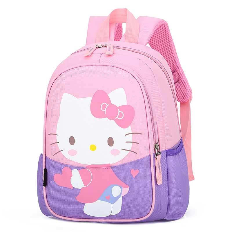 Children's Bags 2019 New Style Cartoon Cute Children's Backpack Baby Nursery Backpack KT Cat Children's School Bag