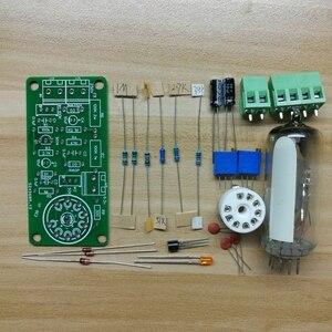 Image 3 - 6E2 Tubo Occhio di Gatto Bordo di Driver Indicatore del Livello Audio Fluorescente Radio Tubo Amplificatore di Volume Indicazione Bile Preamplificatore Vuoto