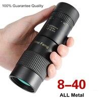 All Metal High quality High Power MaiFeng 8 40X40 Monocular HD BAK4 Professional Hunting Telescope Big Eyes for Bird Watching