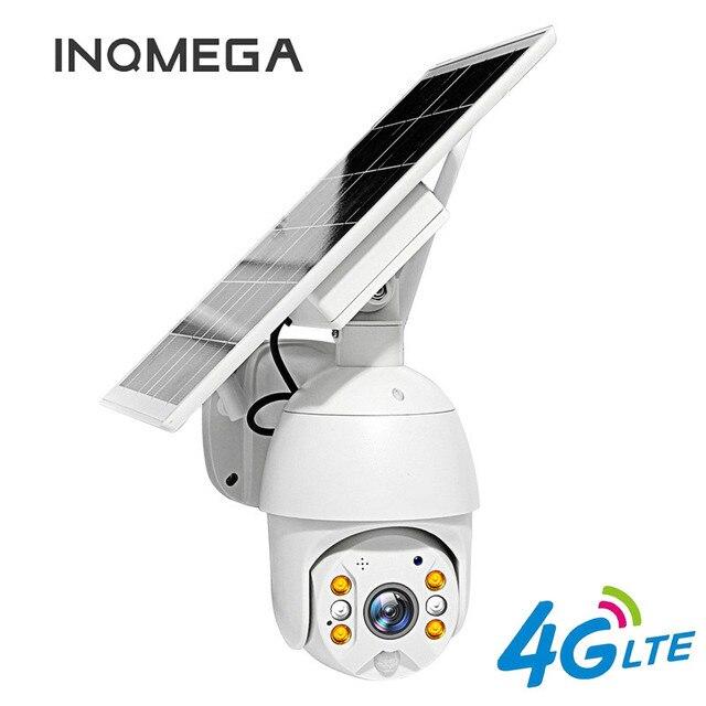 4G 버전 1080P HD 태양 전지 패널 야외 모니터링 방수 CCTV 카메라 스마트 홈 양방향 음성 침입 경보 긴 대기