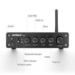 Image 3 - AIYIMA TPA3116 2.1 チャンネル 50 ワット × 2 + 100 ワット高電力の Bluetooth デジタルアンプサブウーファーハイファイ Amplificador オーディオアンプ