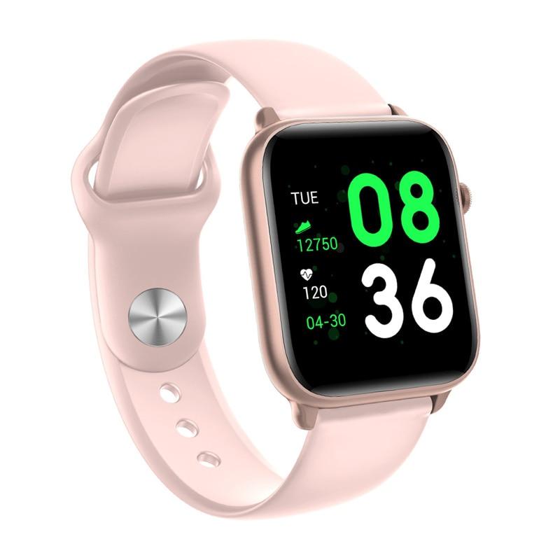 2020 NEW Smart Wristwatch Fashion Women Smart Reminder Heart Rate Calorie Step Casual Couple Clock For IPhone Huawei Xiaomi