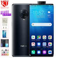 Original vivo NEX 3 mobile phone 6.89 inch 8GB 128/256GB 4G&5G Snapdraon 855 Plus 64MP Rear camera 16MP Front 4500mAh CellPhones
