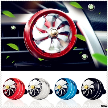 car Perfume Air Freshener Mini Fan Auto Air Vent Clip Outlet for Kia eco Pro-cee-d KOUP cee-d Rondo Kue Kee KV7 POP VG image