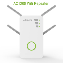 Wireless Router Wifi  Repeater Signal Wifi Booster Through-Wall Amplifier AC1200M Dual-Frequency Commercial цены онлайн
