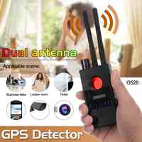 G528 Multi-function Dual antenna Anti-spy Detector Camera GSM Audio Bug Finder GPS Signal Lens RF Tracker-Detect Wireless
