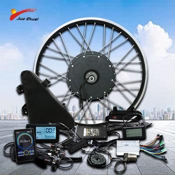 500W 350W 250W kit de conversión de Bicicleta eléctrica con 12AH batería...