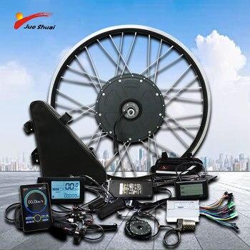 Kit de conversión de Bicicleta eléctrica, 500W, 350W, 250W, batería de 12AH,...