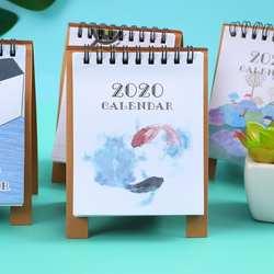 JIANWU 2019 2020 и милые носки с рисунками зверей из мультфильмов, настольный мини-календарь школы планировщик Kawaii порядок дня Настольный