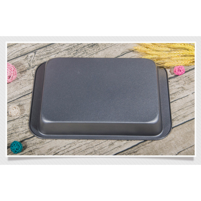 Bakeware Non-stick Cake Mould Bread Loaf Pans Toast Brownie Rectangular Mold Baking Tools Kitchen Dining Bar Supplies