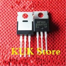 Real 100% Original NEW  IRF1404  F1404  IRF1404PBF  MOSFET  40V  202A  TO-220  50PCS/LOT цена 2017
