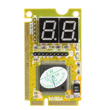 VODOOL Mini PCI-E LPC PC Analyzer Tester POST Card Test For Notebook Laptop Hexadecimal Character Display