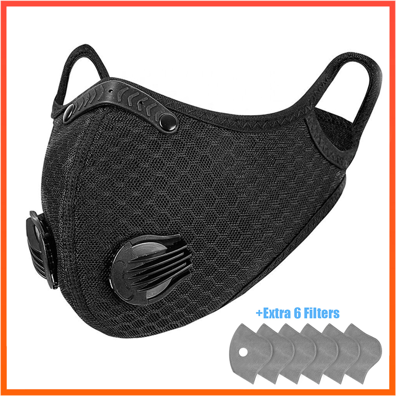 Anti Pollution Sport Mouth Mask Dust Respirator Washable Reusable Masks Cotton Unisex Mouth Muffle For Sport Cycling Mask