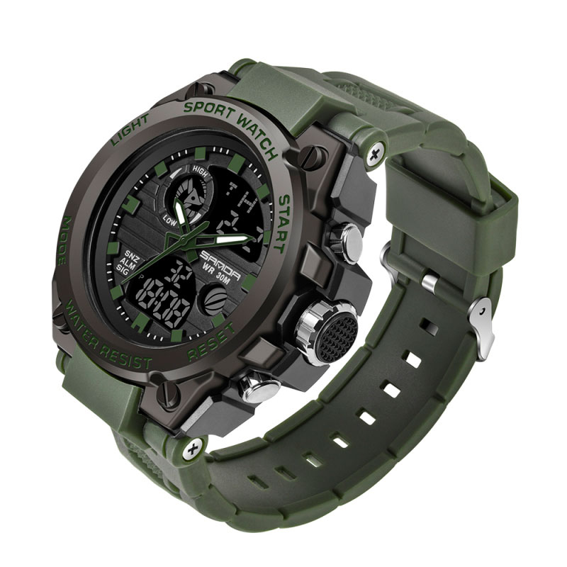 H156df30c0d3c41c784a9b26ae4881910A - SANDA 739 Sports Men's Watches Top Brand Luxury Military Quartz Watch Men Waterproof S Shock Male Clock relogio masculino