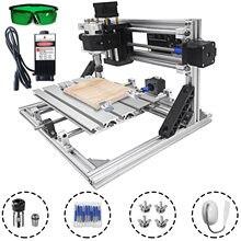 VEVOR 3 Axis CNC Router Kit 2418 2500MW Engraving Machine 10000rpm Wood/Plastic