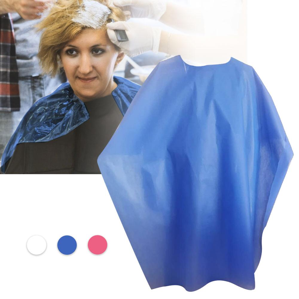100pcs Non-Woven Dyed Bib Thickened Waterproof Perm Disposable Cloth Special Perm Hair Salon Shawl Barber Shop Hair Salon