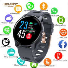 Smart Watch S08 Women Men IP68 Fitness Tracker Heart Rate Monitor Pedometer Waterproof Smartwatch For Android IOS Phone PK T1 T2 haoba smart watch fitness tracker smartwatch heart rate sleep monitor pedometer wristwatch for ios android xiomi huawei phone
