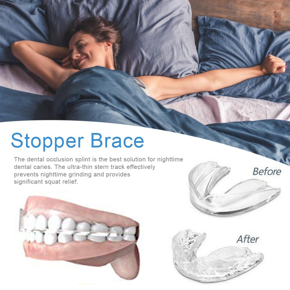Anti-nasal Braces New Dental Occlusion Splint For Dental Grinding Night Teeth Protection Too Accessory