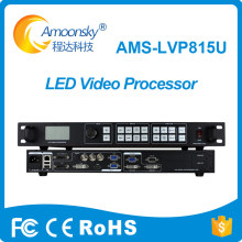 multifunction video processor AMS-LVP815U compare to vdwall led wall controller for large outdoor led display screens