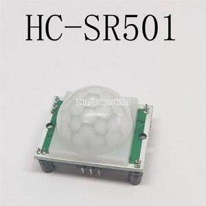 Image 3 - 20pcs X HC SR501 HCSR501 גוף אדם אינפרא אדום חיישן מודול. אלקטרי. אינפרא אדום חיישן.