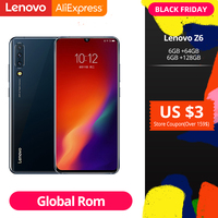 Original Global ROM Lenovo Z6 Snapdragon 730 Smartphone Quad Cameras 6.39 Inch OLED In screen Fingerprint 4G LTE