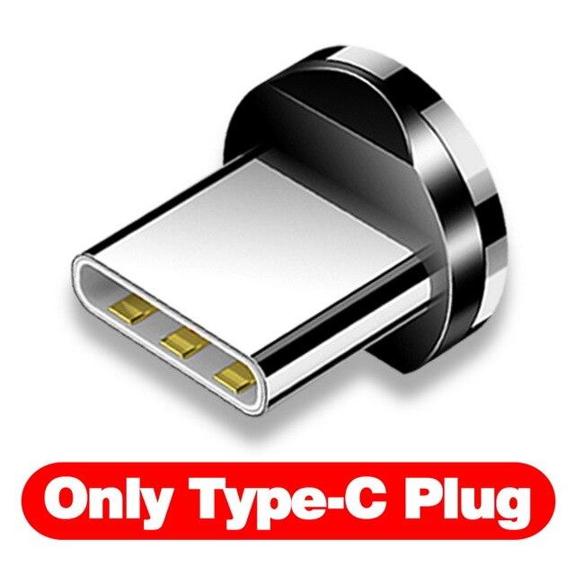 INIU световой поток магнитного освещения USB кабель для iPhone XR X 7 8 микро Тип C зарядное устройство Быстрая зарядка магнит зарядка USB-C тип-c - Цвет: Only Type C Plug