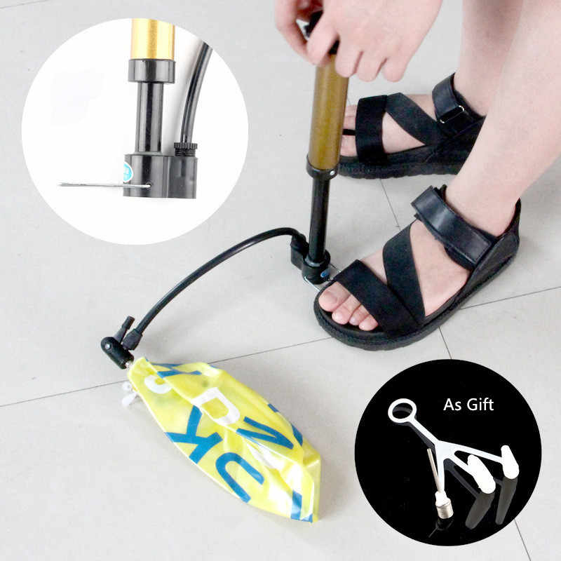 Mini pompe à vélo VTT pompe à pression à main Portable basket vélo de route gonfleur or pompe à vélo