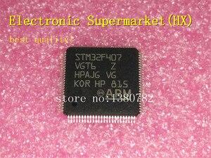 Darmowa wysyłka 5 sztuk/partii STM32F407VGT6 STM32F407 QFP-100 nowy oryginalny IC natychmiast!