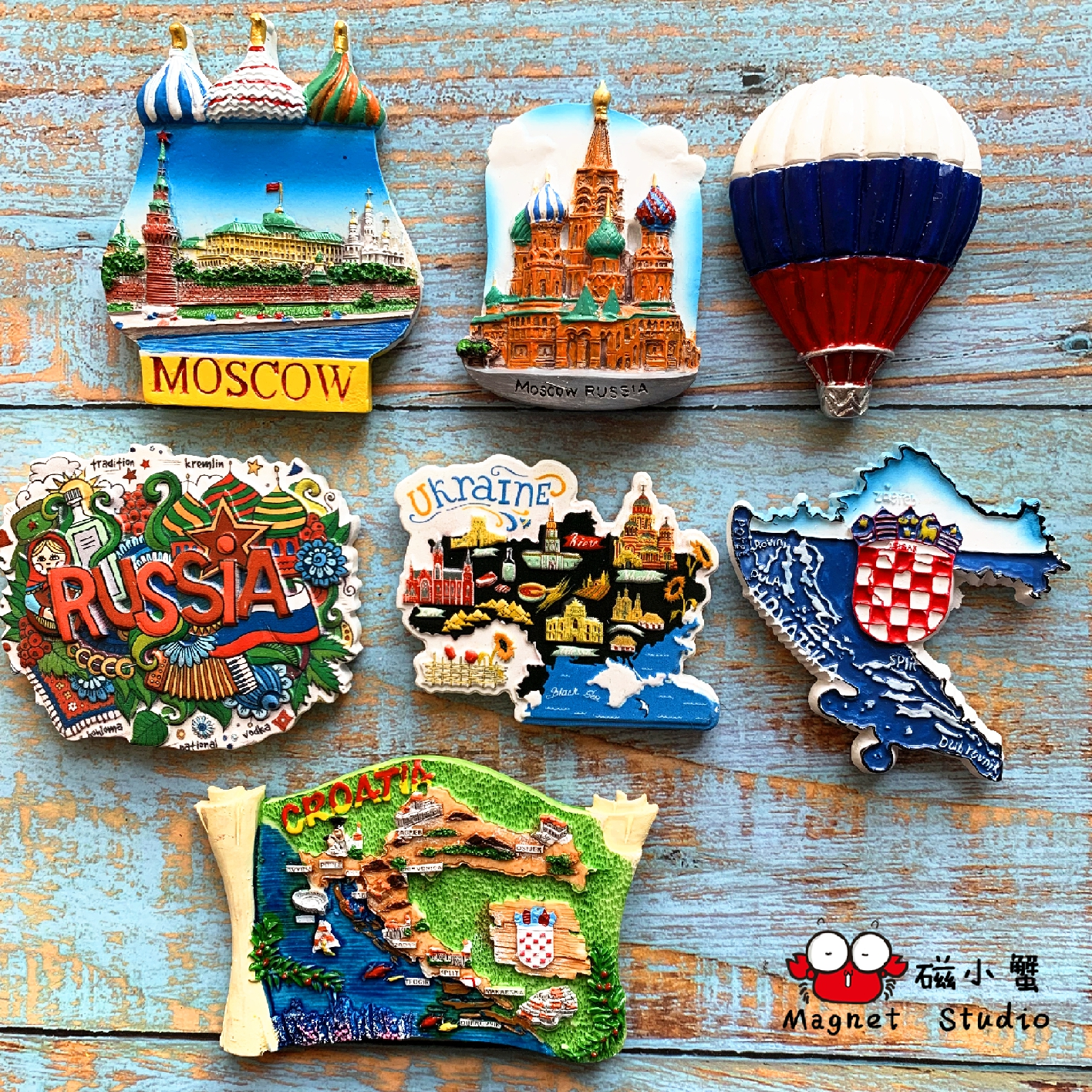 Special Price For Magnets Moscow Brands And Get Free Shipping A79