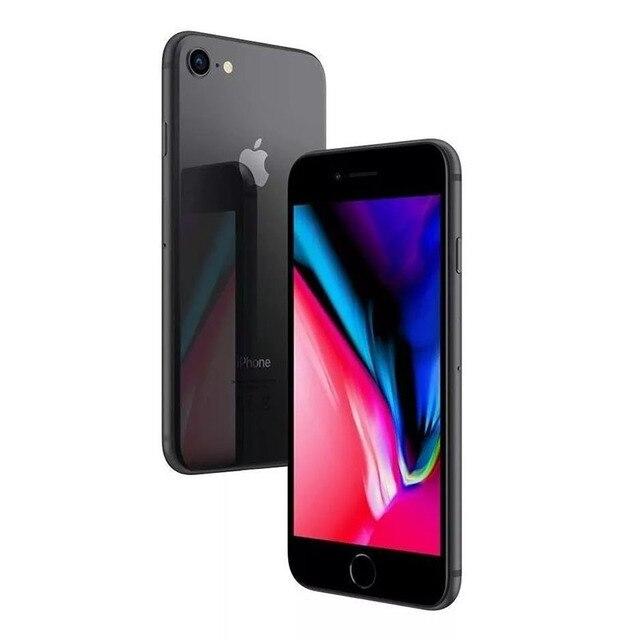 Unlocked Apple iPhone 8 64GB/256GB Hexa-core 4G LTE Phone 3D Touch ID 4.7 inch Fingerprint IOS Apple Original Mobile phone 6