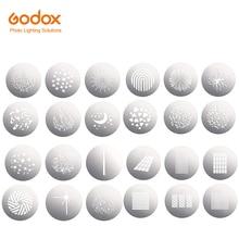 Godox SA 09 001 002 003 004 GOBO Kit para SA17 + SA P para S30 S60 SL150II VL150 VL200 VL300 SL200II Bowen de luz de montaje de