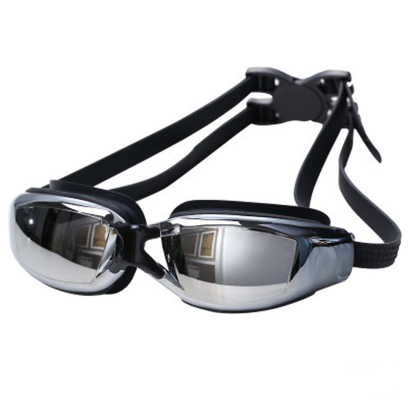 Swimming Goggles UV Electroplating Pool Glasses Waterproof Anti Fog Swimming Glasses Mask Adjustable Eyewear Goggles For Adults