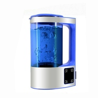 2L Hydrogen Water Cup Bottle Water Ionizer Machine Water Filter Drink Hydrogen Water Generator 220V with Adapter