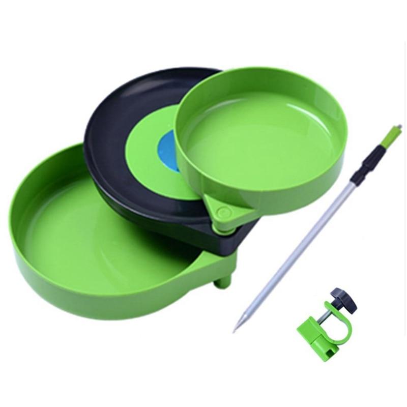 Fishing Bait Tray Magnetic Mini Pull Bait Tray Plastic Bait Plate Fishing Accessories Three Floors Multi Function Fishing Tool|Fishing Tools| |  - title=