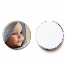 5pcs/Pack Jewelry-Accessories Custom Round Glass 25mm Diy-Supplies Cabochon Demo Back-Setting