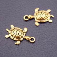 20 шт подвеска в виде черепахи 26 х17 мм