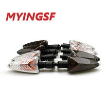 For BMW R1200R 07-14, R1200 GS 04-12, R1200GS LC 15-16 Motocycle Front Rear Blinker Turn Signal Light Indicator Lamp