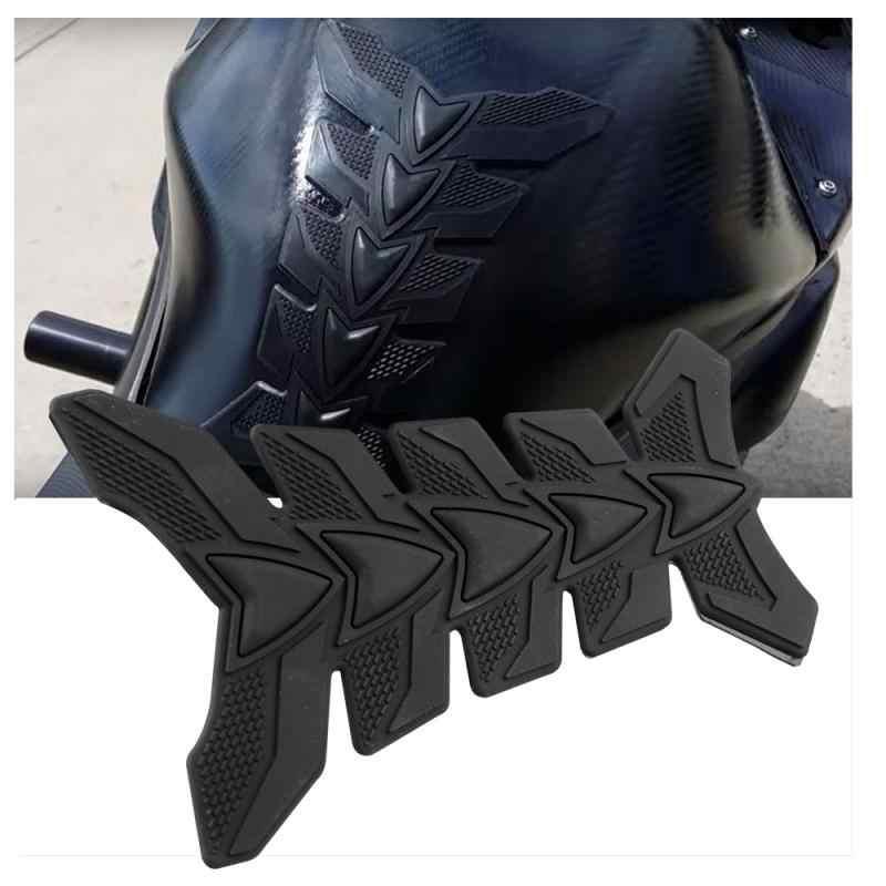 3D Sepeda Motor Stiker Gas Fuel Oil Tank Pad Karet Penutup Pelindung Stiker Case untuk Honda Yamaha KTM BMW Kawasaki Suzuki stiker