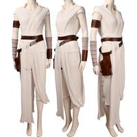Women Star Wars The Rise of Skywalker Rey robe cosplay Halloween costume X'mas gift toys comic con anime film outfit