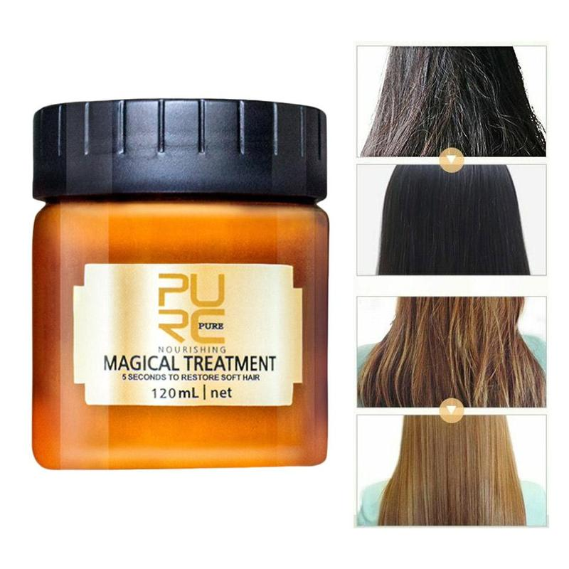 Magical Treatment Hair Mask 5 Seconds Repairs Hair Damage Nutrition Infusing Masque Restore Soft Hair