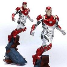 Marvels Legend Avengers Endgame Doll MK47 Action Figure Iron Man Statue